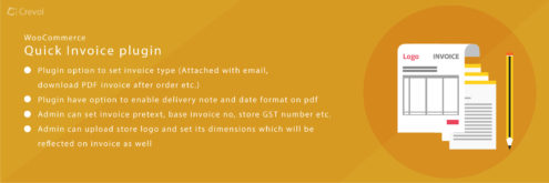 wooommerce quick invoice pdf