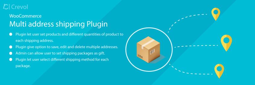 Woocommerce Multi Address Shipping