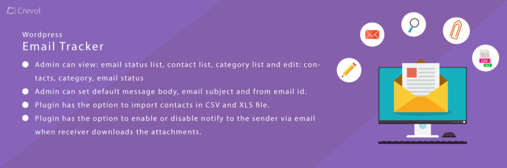 Wordpress Email Tracker - Crevol Software