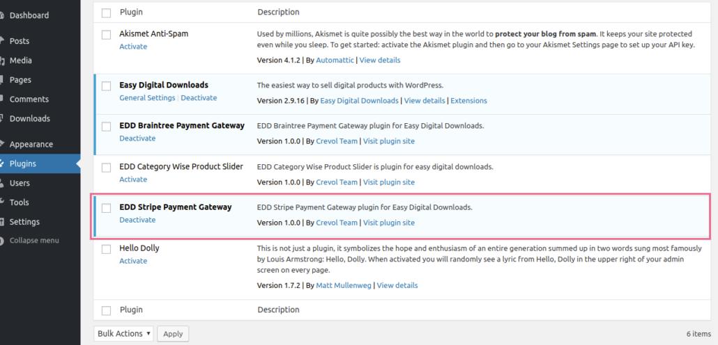 Edd Stripe Payment Gateway - Crevolsoft